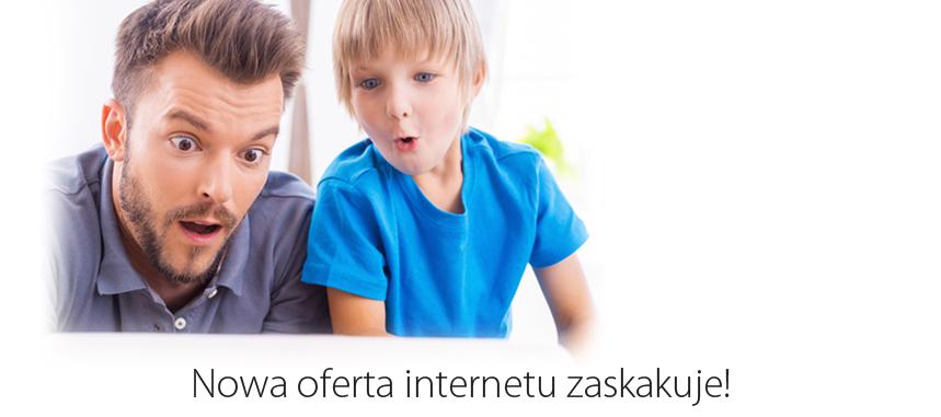 nowa oferta internetu zaskakuje!